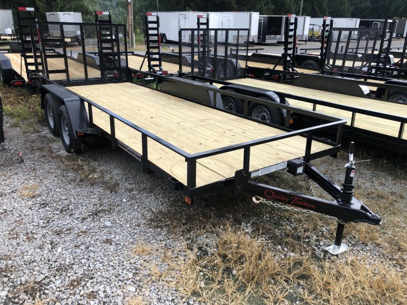 2021 Quality Trailers 76x18 HD Gate Utility Trailer