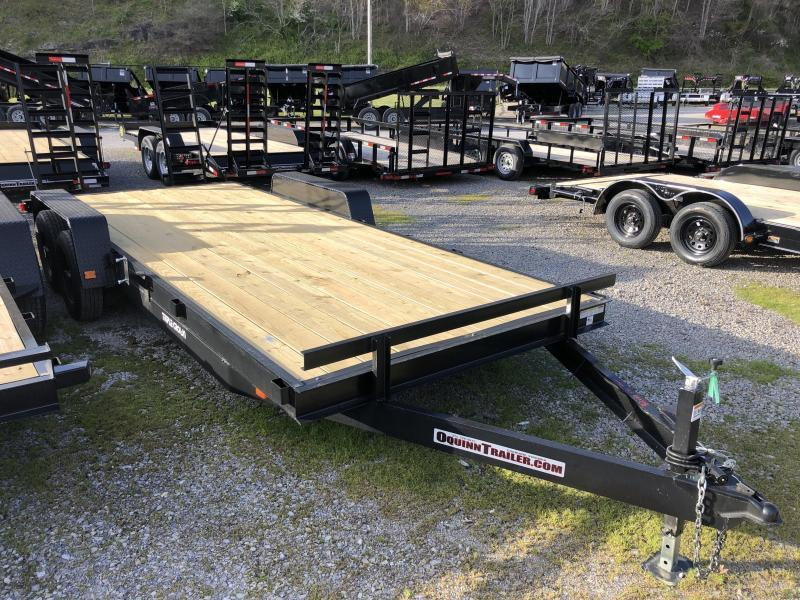 2020 Triple Crown 82x20 5ton equipment trailer