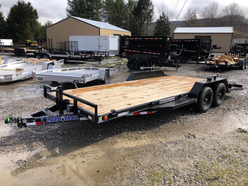 2021 Load Trail 83X20 5Ton running boards Wood Car Hauler