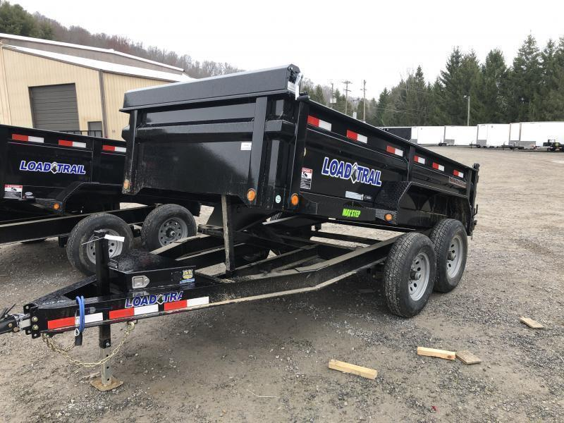 2021 Load Trail 6X12 Low Pro 5 Ton w/Tarp and Ramps Dump Trailer