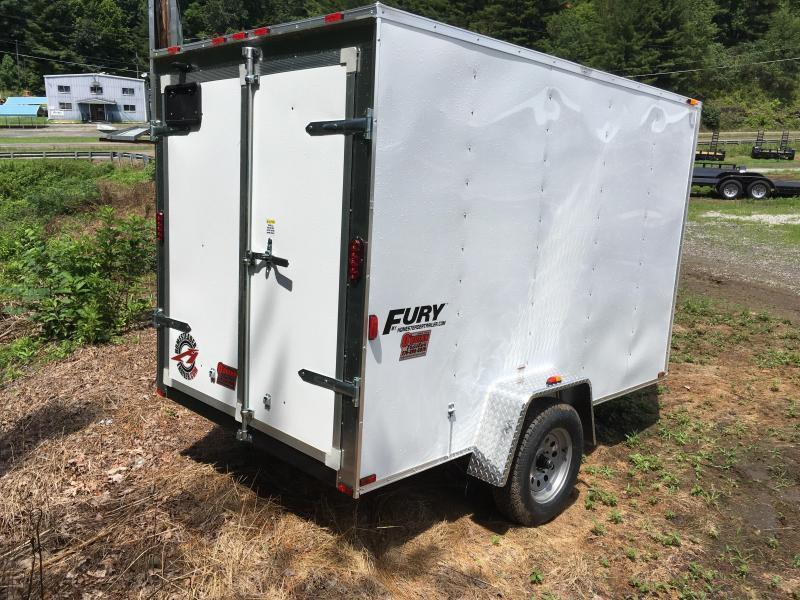 2021 Homesteader Inc. 6x10 Fury Double Door Only Enclosed Cargo Trailer