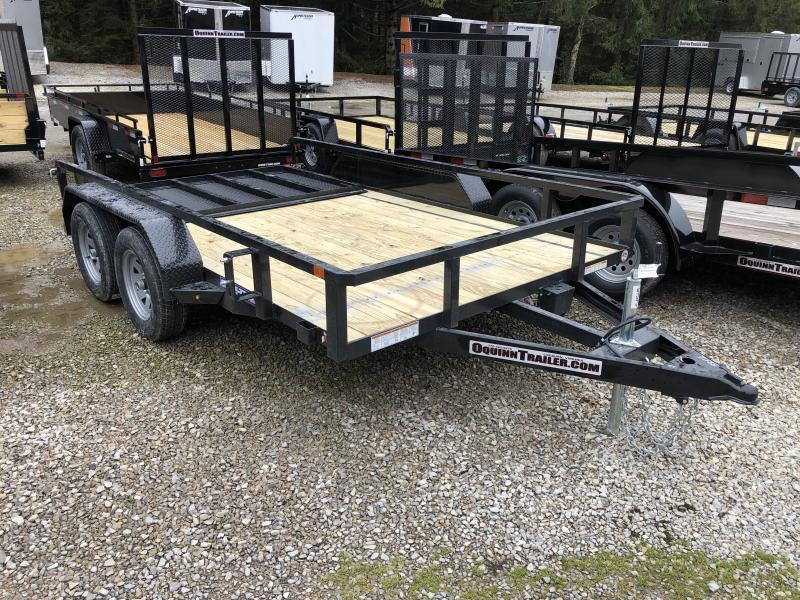 2021 Sure-Trac 81x12 Tandem Tube Top w/gate Utility Trailer