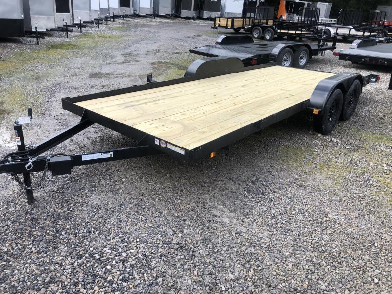 2021 Triple Crown 83x18 Wood Floor Car Hauler