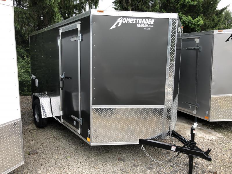 2021 Homesteader 7x12 Intrepid ramp door single axle Enclosed Cargo Trailer
