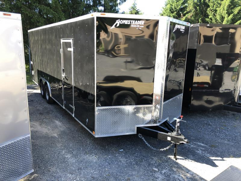 2021 Homesteader 824it intrepid 5 ton 7'tall car hauler Enclosed Cargo Trailer
