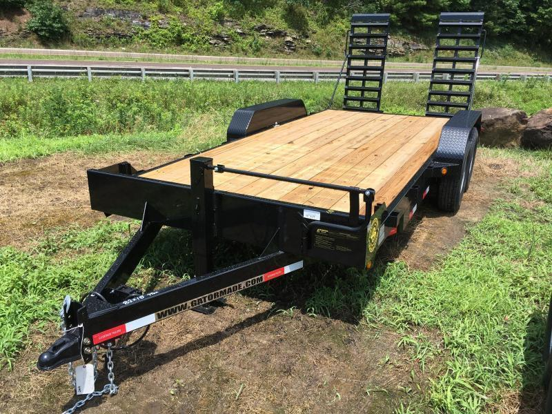 2021 Gatormade Trailers 82X19 7TON Equipment Trailer
