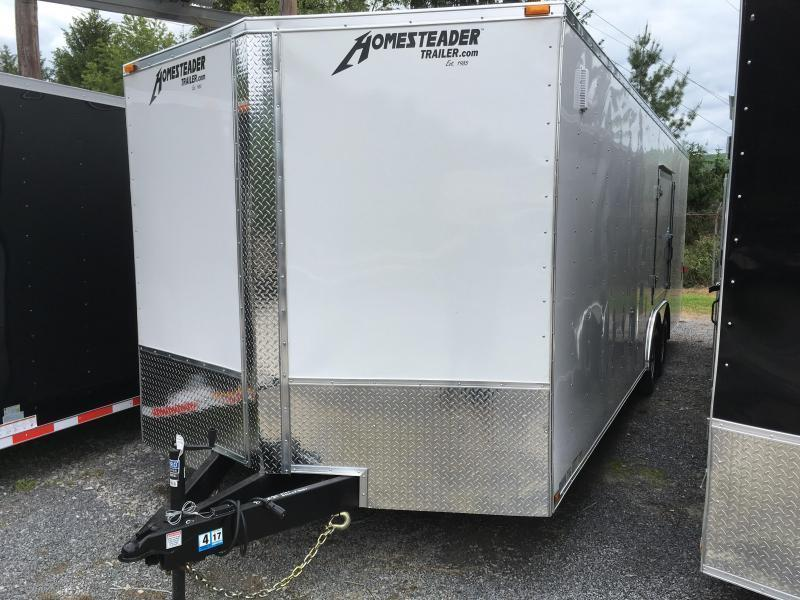 2021 Homesteader Intrepid 24ft 5ton car hauler with escape door Enclosed Cargo Trailer