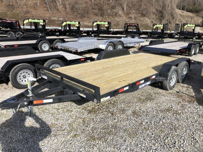 2021 Sure-Trac 82x18 Wood Floor Car Hauler Car / Racing Trailer
