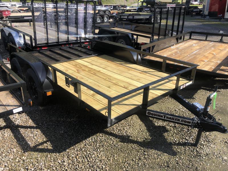 2021 Triple Crown 76x12 tandem axle w/gate Utility Trailer