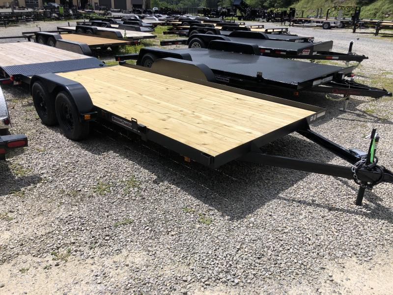 2020 Triple Crown 83x16 Wood Floor Car Hauler