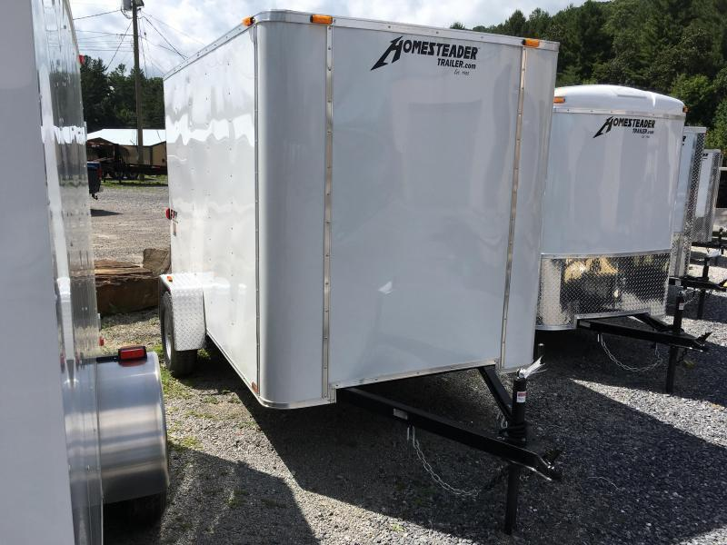 2021 Homesteader Inc. 6x12 fury double door only Enclosed Cargo Trailer