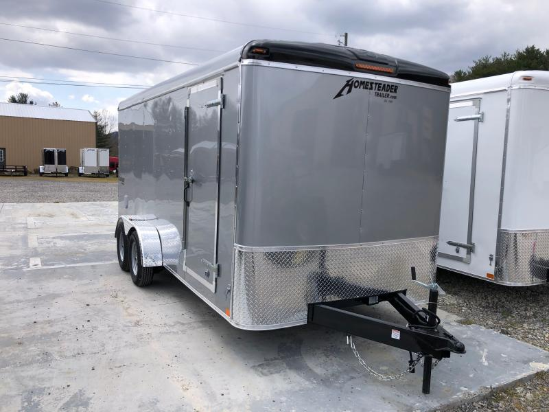2021 Homesteader 7x16 Challenger sd ramp Enclosed Cargo Trailer