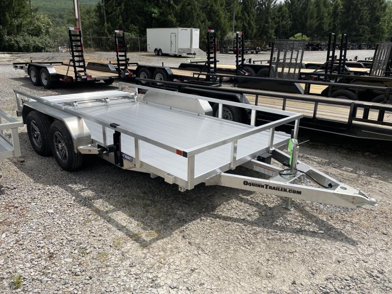 2021 Sure-Trac 82X14 Tandem All Aluminum Utility Trailer