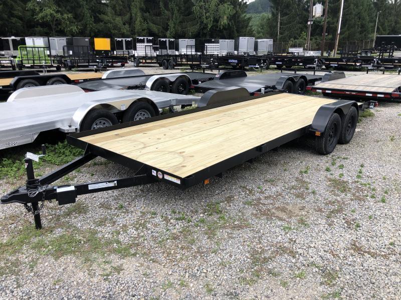 2021 Triple Crown 83x20 Wood Floor Car Hauler