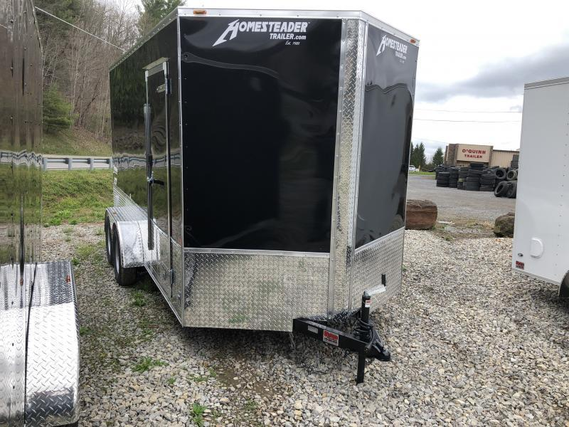 2021 Homesteader 7x14 Intrepid OHV Pkg 12IN EXTRA HT Enclosed Cargo Trailer