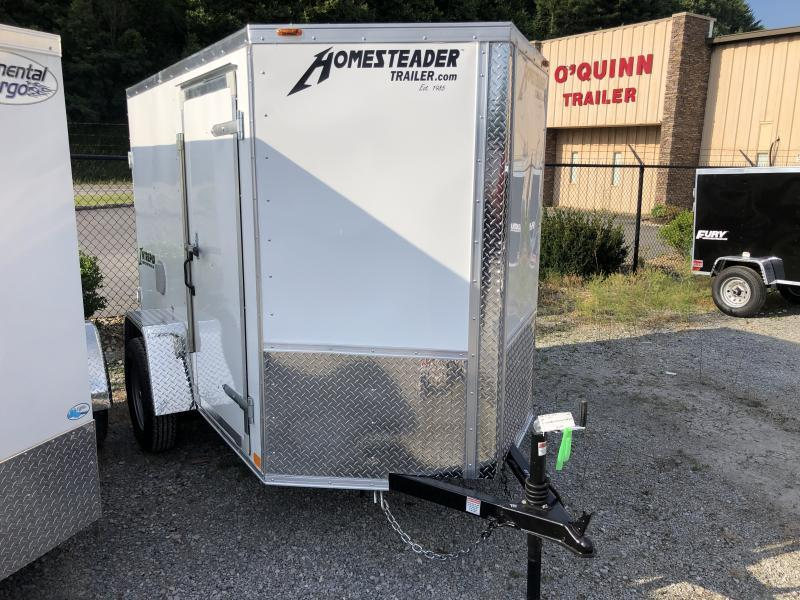 2021 Homesteader 5x8 Intrepid sd DOUBLE door Enclosed Cargo Trailer