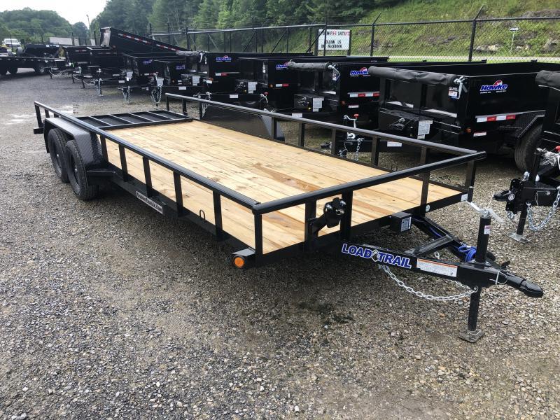 2020 Load Trail 83X20 w/Rear Gate Utility Trailer