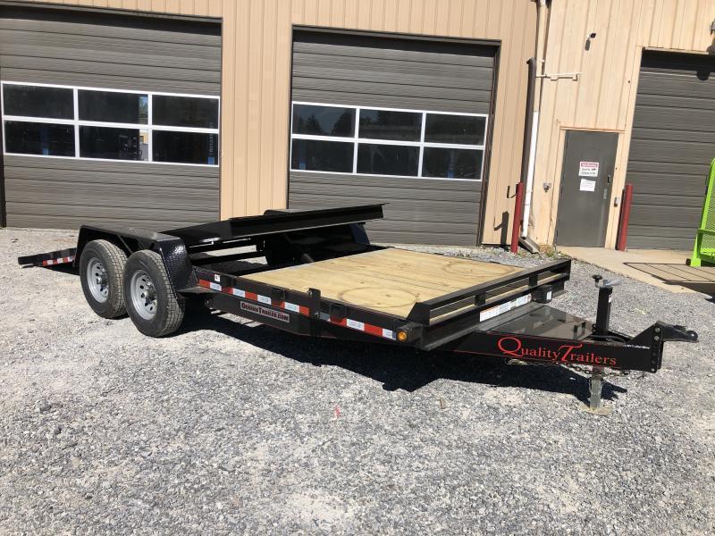 2022 Quality Trailers 82x20(6+14) 7ton Tilt bumper pull Equipment Trailer