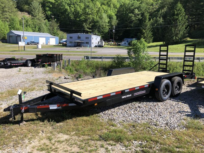 2020 Triple Crown 82x20 7ton equipment trailer