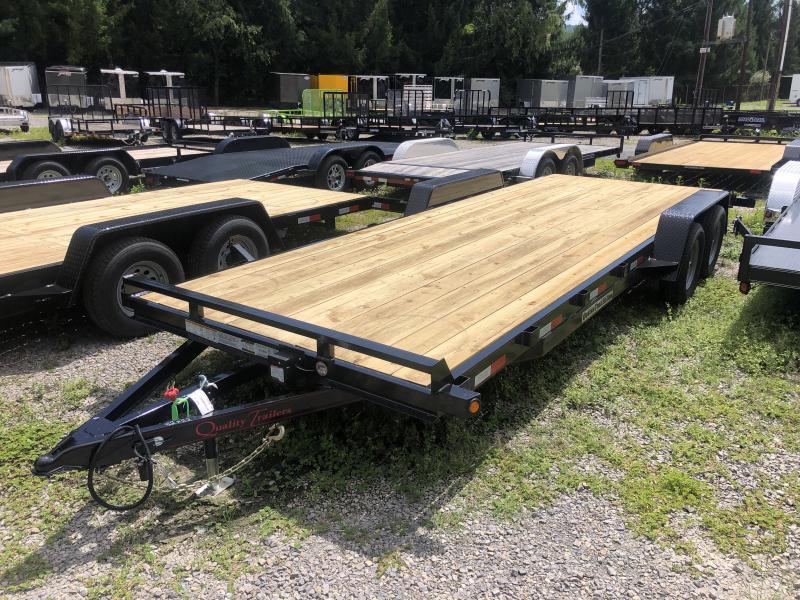 2021 Quality Trailers 82x22 bumper pull wood car hauler Trailer