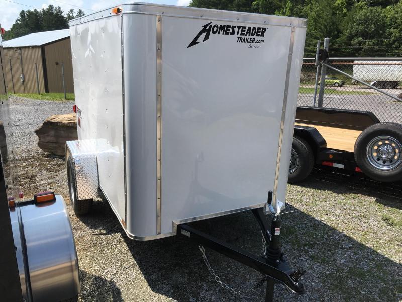 2021 Homesteader 5x8 fury swing rear door Enclosed Cargo Trailer