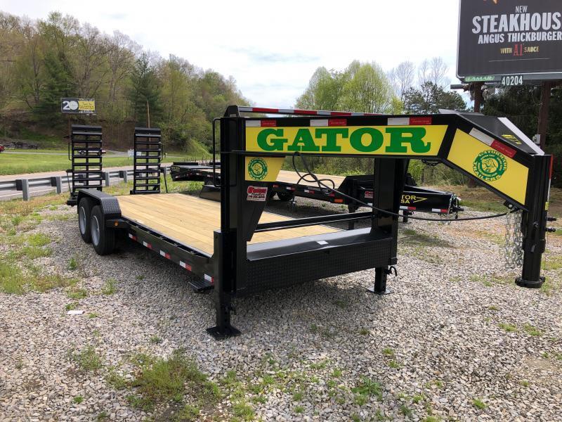 2021 Gatormade Trailers 82x21 Gooseneck 18+3 17600 GVWR 17.5 Tires 8k axles Equipment Trailer