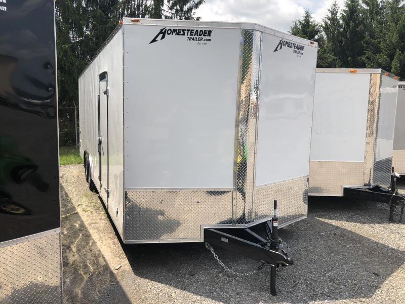2021 Homesteader 824it intrepid 5 ton 7'tall car hauler Enclosed Cargo Trailer