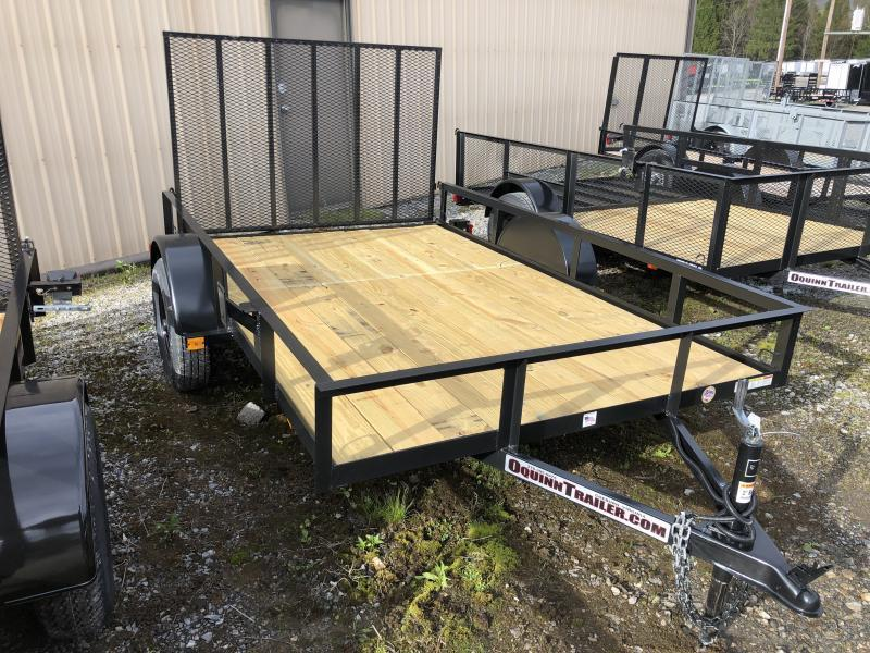 2021 Triple Crown 76x10 single axle w/gate Utility Trailer