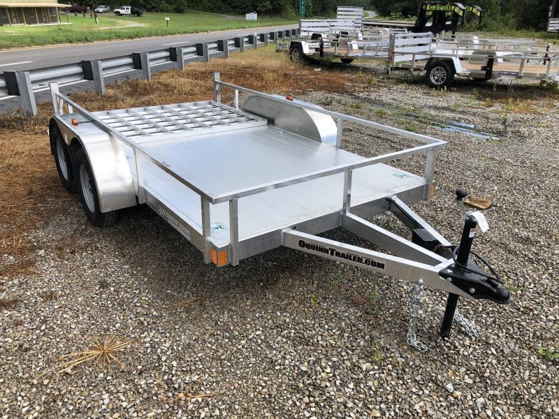 2021 Forest River 78x12 TANDEM all aluminum Utility Trailer
