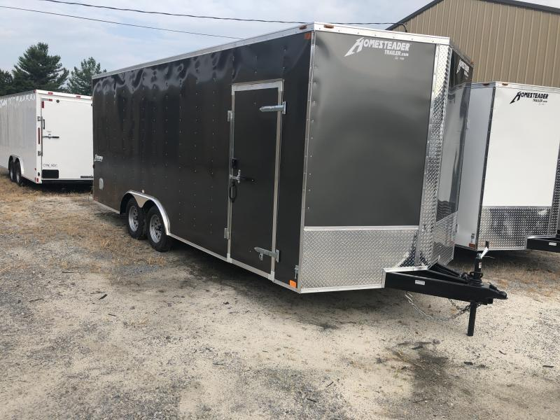 2021 Homesteader 8.5X20 7' tall Intrepid Car Hauler Enclosed Cargo Trailer