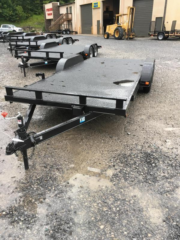 2021 Other 82x18 steel floor channel car hauler Car / Racing Trailer
