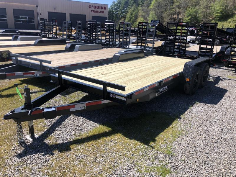 2020 Triple Crown 82x18 7ton equipment trailer