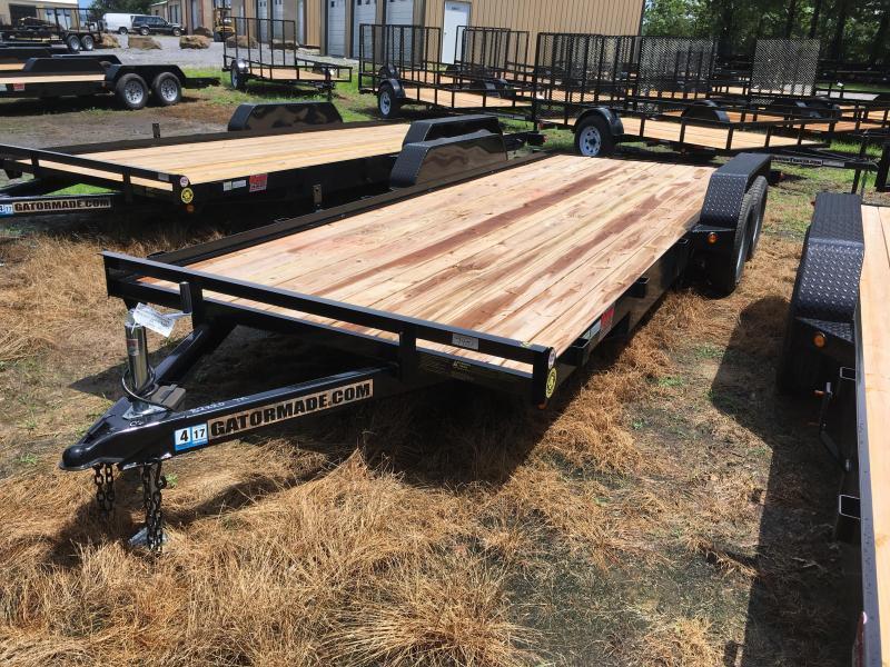 2021 Gatormade Trailers 20 wood car hauler Car / Racing Trailer