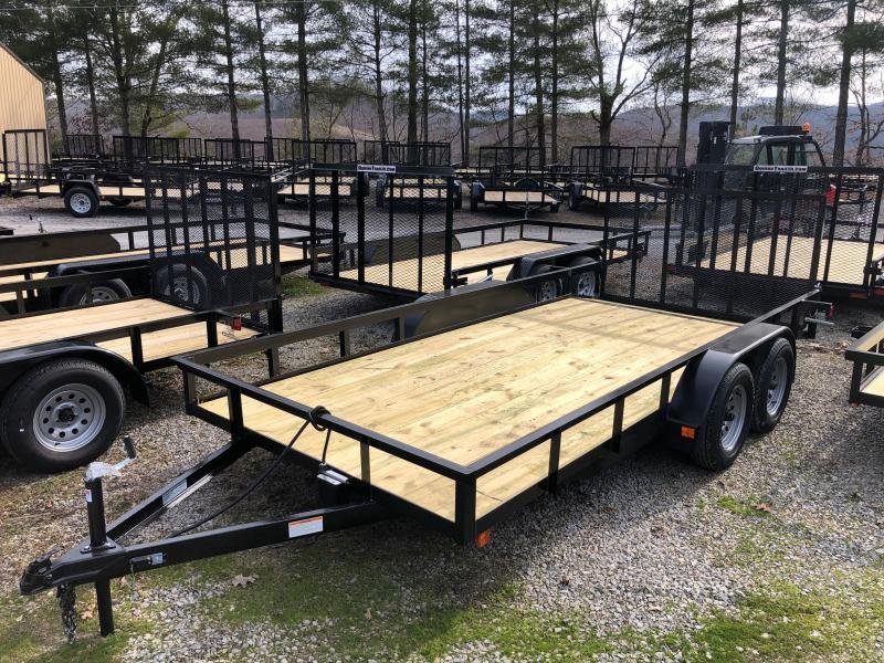 2022 Other (Not Listed) 82X16 gate brake DOVETAIL Utility Trailer