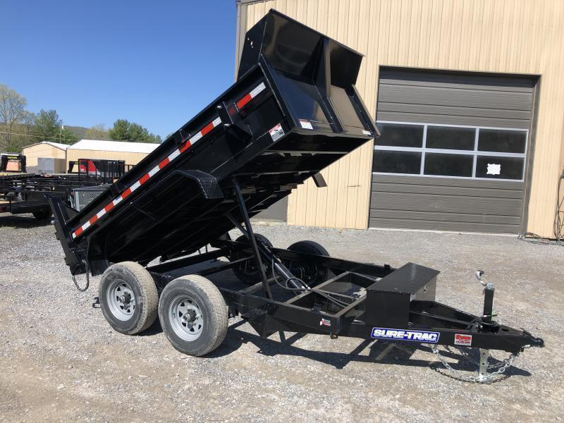 2021 Sure-Trac 6X10 5TON Low Profile Dump w/Ramps AND TARP Dump Trailer