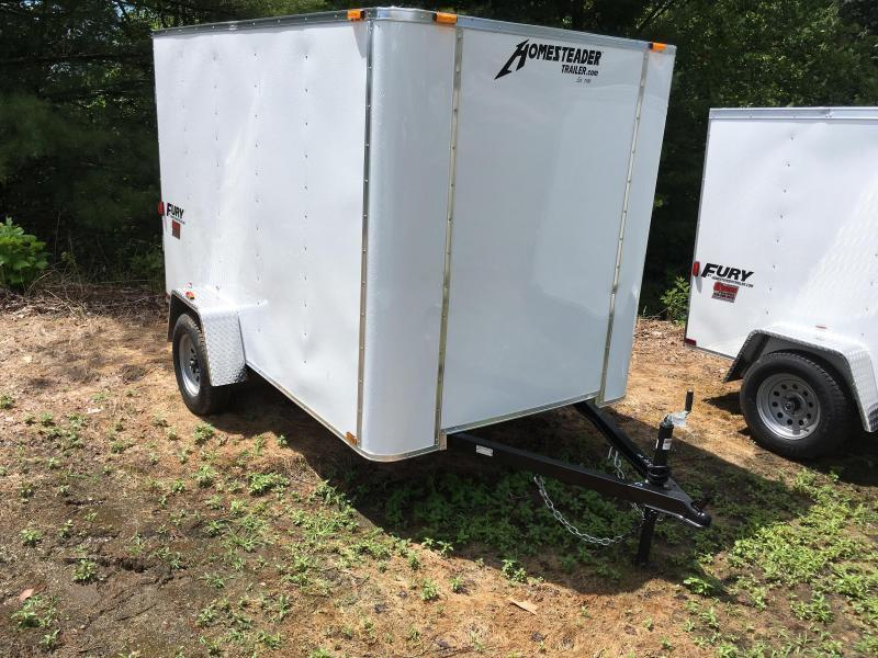 2021 Homesteader Inc. 6x10 Fury Double Door Only Enclosed Cargo Trailer