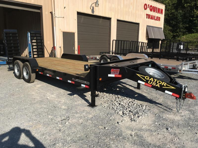 2021 Gatormade Trailers 82X20 17600GVWR AARDVARK Equipment Trailer