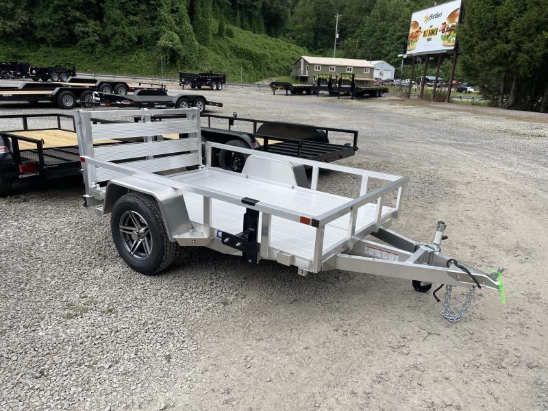 5X8 Sure Trac Single Axle All Aluminum Utility Trailer