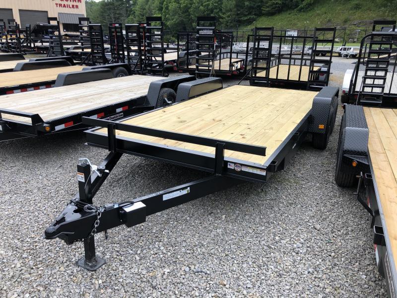 2021 Triple Crown 82x18 5ton equipment trailer