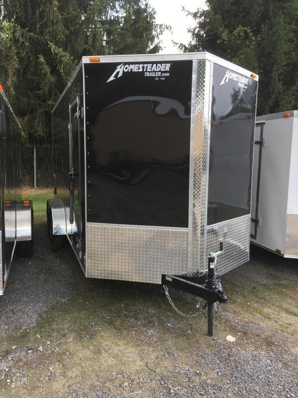 2021 Homesteader 7x16 Intrepid 1ft extra height Enclosed Cargo Trailer