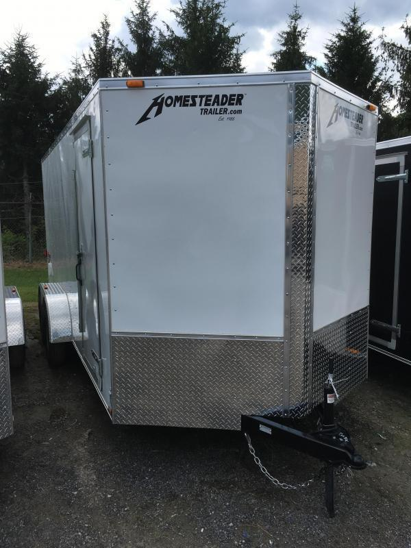 2021 Homesteader 7x16 Intrepid 6in extra height SD RAMP Enclosed Cargo Trailer
