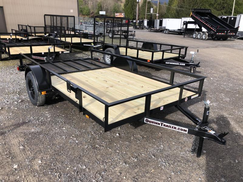 2021 Triple Crown 76x12 single axle w/gate Utility Trailer