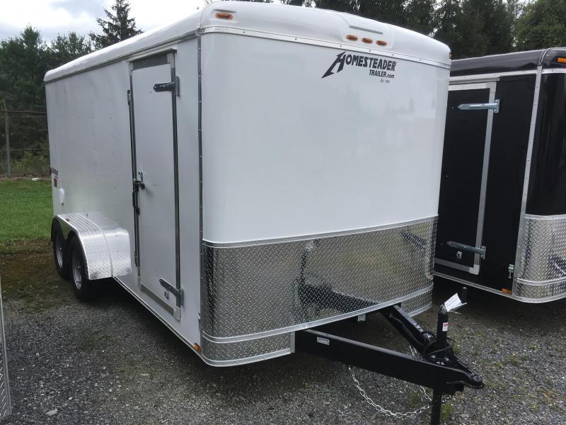 2021 Homesteader 7x16 Challenger SD Double Door Enclosed Cargo Trailer