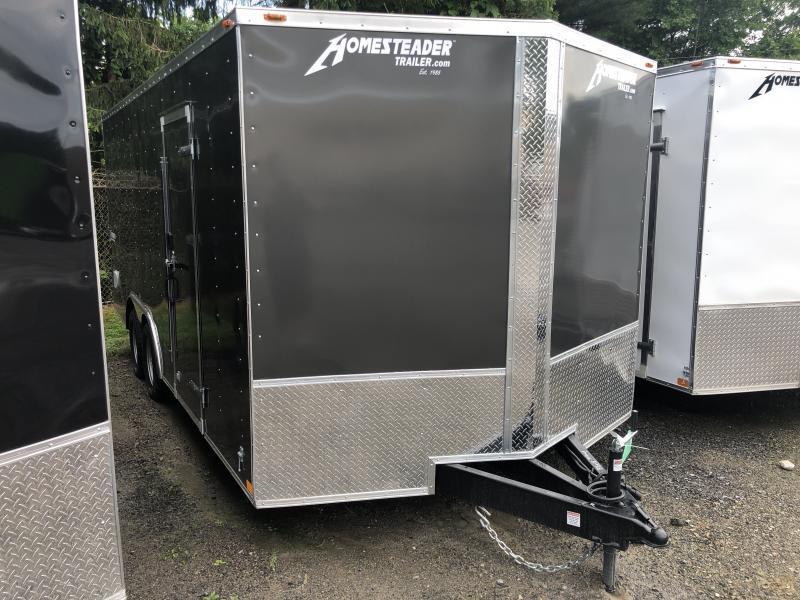 2021 Homesteader Intrepid 8.5x18 car hauler Enclosed Cargo Trailer