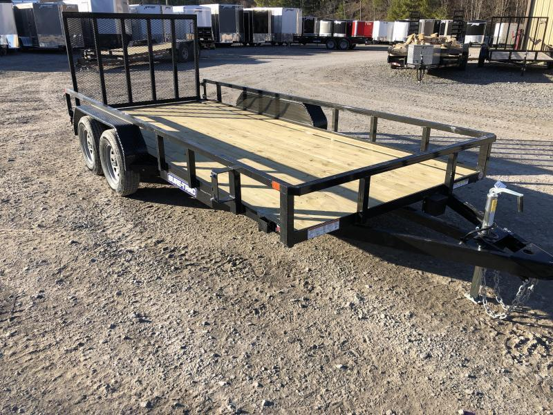 2021 Sure-Trac 81x16 Tube Top w/gate Utility Trailer