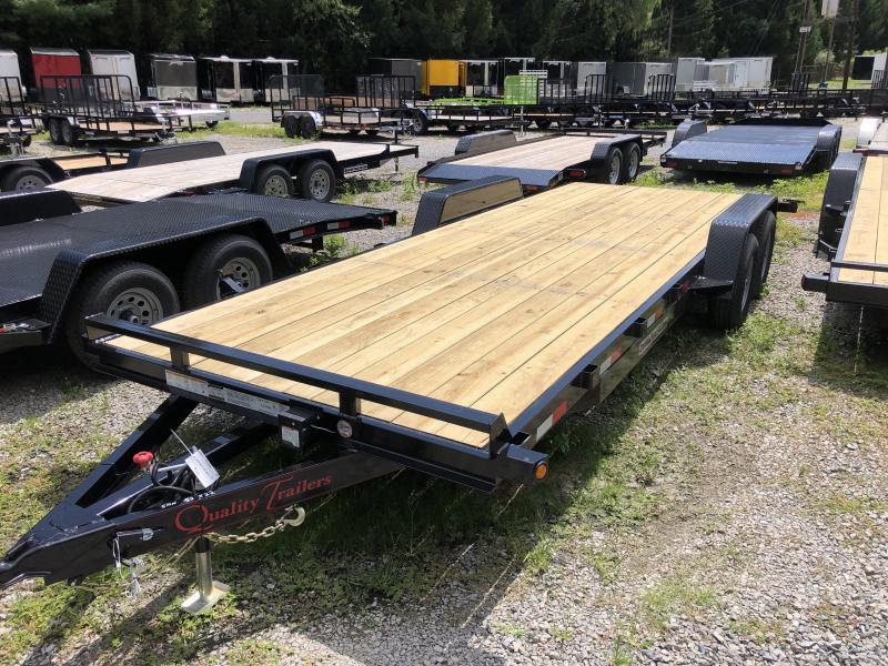 2021 Quality Trailers 82x22 5ton bumper pull wood car hauler Trailer