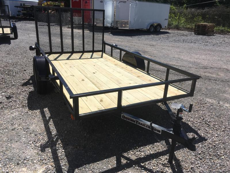2021 Other (Not Listed) 76x12 gate single axle Utility Trailer