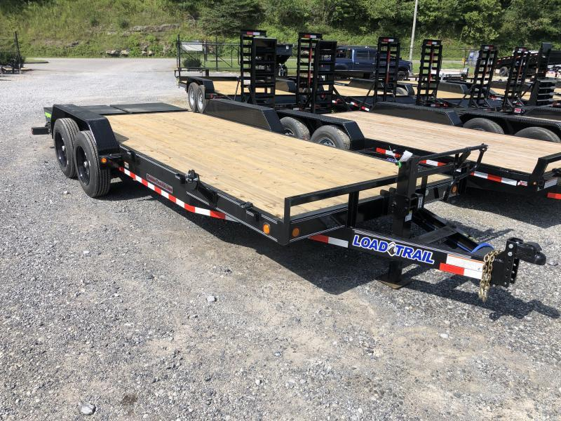 2021 Load Trail 83x20 16000GVWR 17+3 W/MAX RAMPS Equipment Trailer
