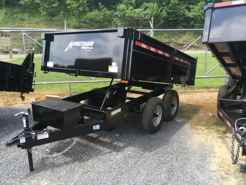 2021 Homesteader 6x10 5 ton dump Dump Trailer