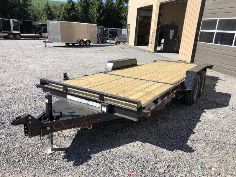2021 Quality Trailers 82x20(6+14) 7ton Tilt bumper pull Equipment Trailer